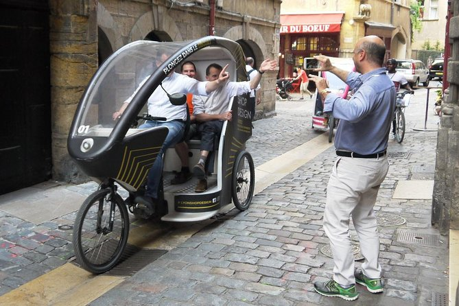 1 or 2-Hour Pedicab tour of Lyon