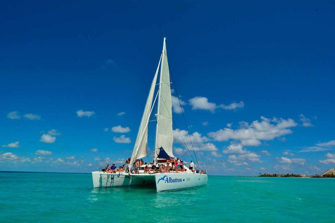 VIP Sailing experience to Isla Mujeres (food, beverage and snorkel included)