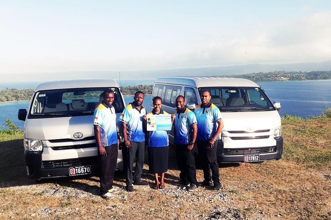 Airport Departure Transfer Port Vila Hotel to Airport