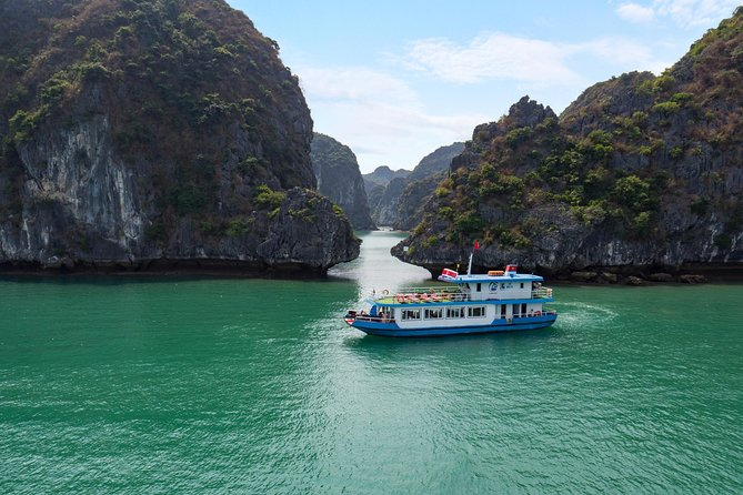 Luxury Day Trip Visit Halong Bay and Lan Ha Bay (8Hours)