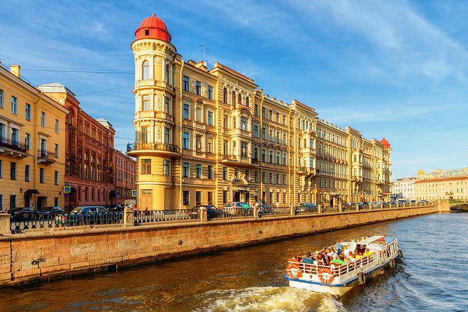 Highlights Of St. Petersburg With River Cruise 1 Day Tour