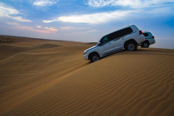 Aventura do deserto do deserto de doha