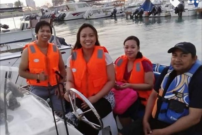 Boat Rental (for fishing, island hopping & snorkeling)