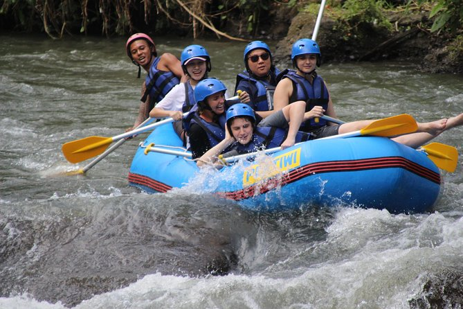 Half Day White Water Rafting Adventure from Bali