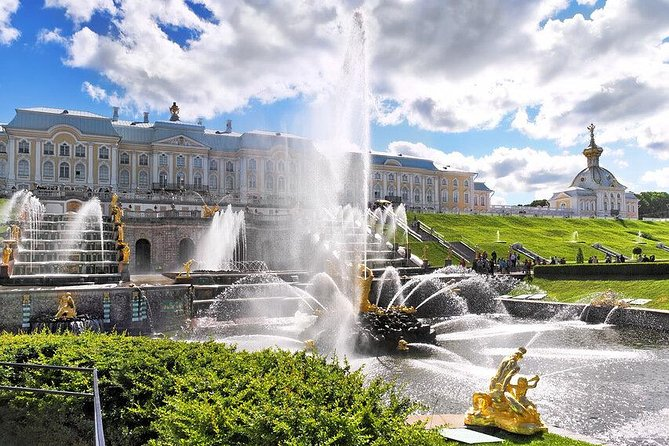 St.petersburg Must Sees With Peterhof Grand Palace And Fountain Park 1 Day Tour photo 1