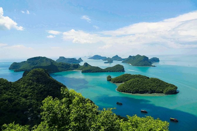 Explore Angthong National Marine Park by Big Boat from Koh Samui