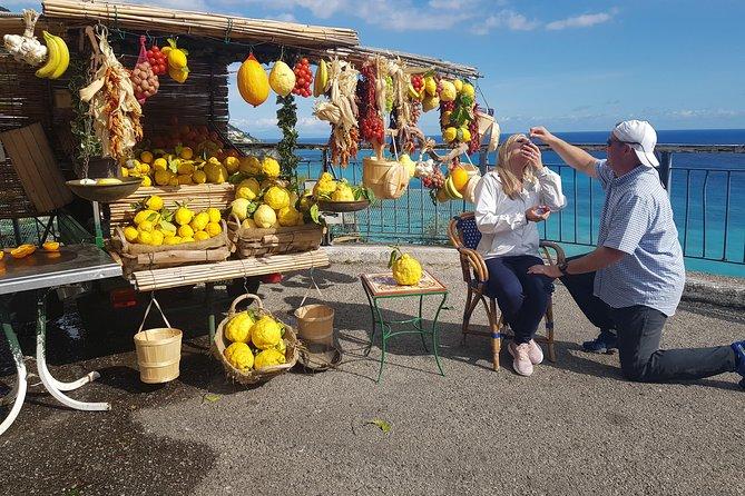 Tour Pompeii and Amalfi coast