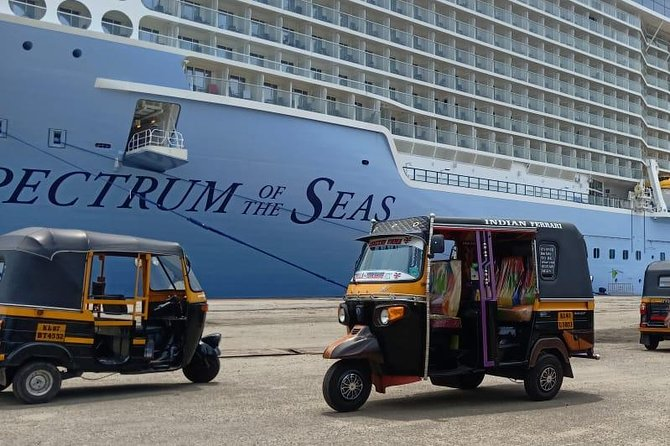 Cochin Cruise Terminal Pick Up Private Tuk Tuk Tour