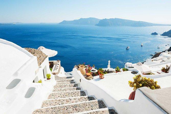 Royalty Santorini Island from Heraklion Crete