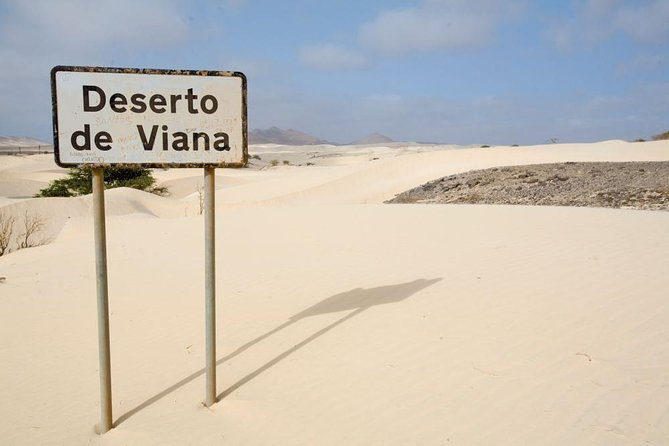 Boavista Private Tour of Viana Desert on 4x4 half day Price 2-4 Pax