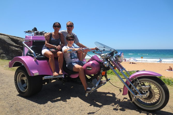 1 Hour Northern Beaches Trike Tour
