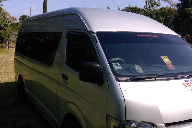 Montego Bay Private Fifteen Passenger Van-Day Trip