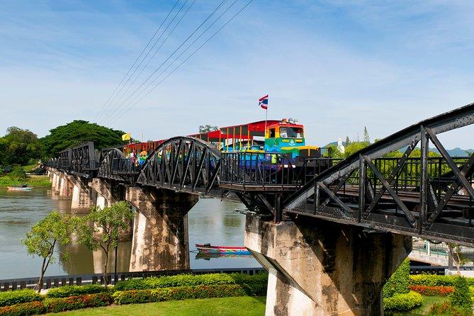 Brug over de rivier Kwai Volledige dag met lunch