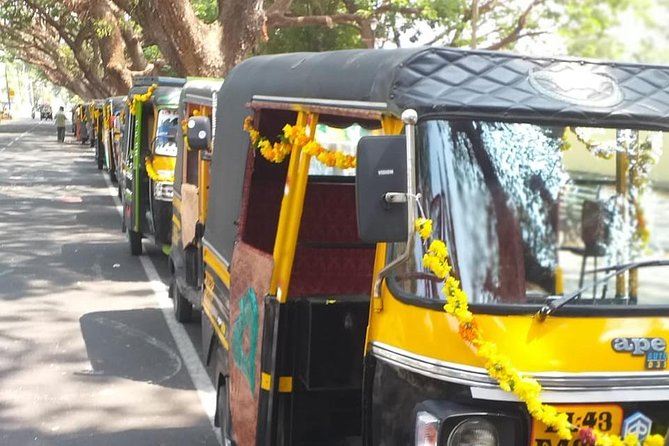 Cochin tuk tuk tours and One hour Backwater Tour with pickup from Cruise ship photo 1