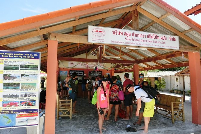 Koh Lipe to Koh Mook by Satun Pakbara Speed Boat