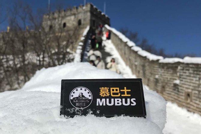 Tour de Mubus por la mañana a la Gran Muralla de Mutianyu