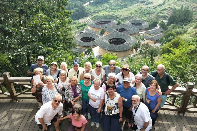 Fujian Tulou Private Day Tour to World Heritage Site Tianluokeng Tulou Cluster