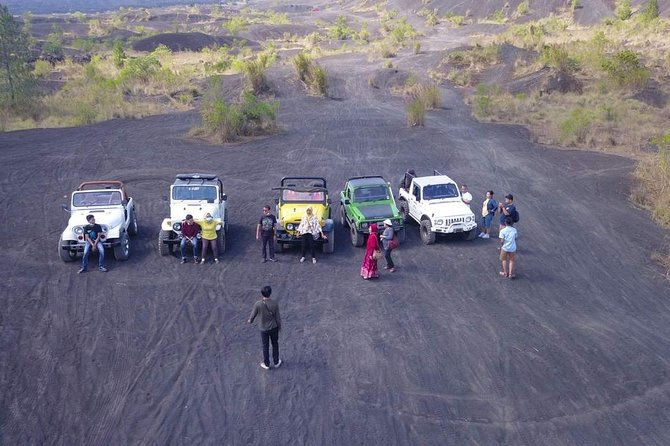 Mount Batur 4WD Jeep Adventure and Natural Hot Spring