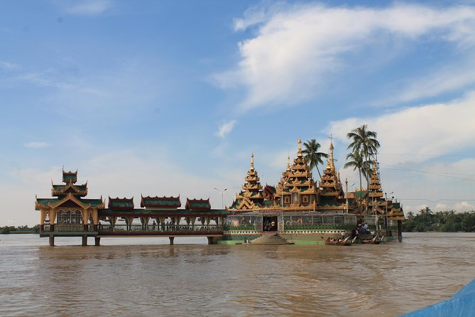 Thanlyin & Yangon Fullday Tour with Burmese Traditional Lunch