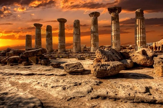 Private Agrigento & Scale of the Turks Tour, from Catania, Taormina & Siracusa