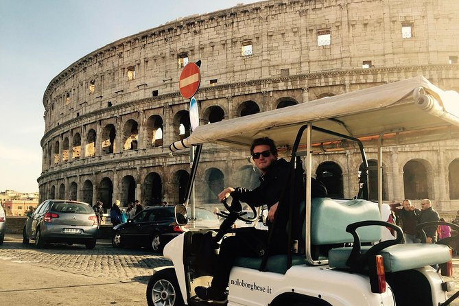 Rome on a Golf Cart Semi Private Tour | with Private Option