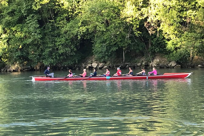 Rowing on the Tiber and Happy Hour