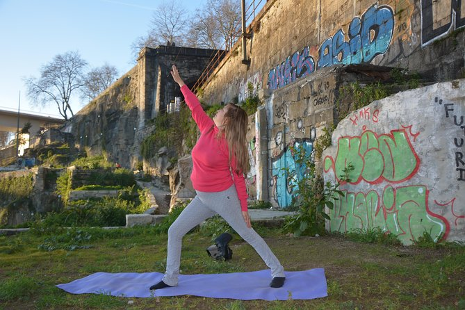 Yoga and Local Vegetarian Foods in the Douro Ruins