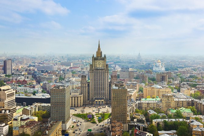 Moscow : 4-Hour Panoramic Tour in Private Vehicle with many stops