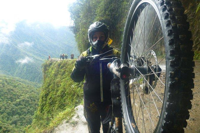Death Road in Coroico, Bolivia