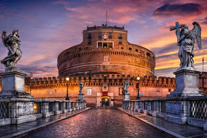 Colosseum & Castel Sant'Angelo at sunset Private Tour