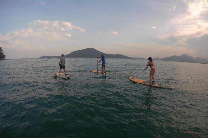 Expedição de Stand Up Paddle Descubra Perequê-Açú - Let's Go Ubatuba