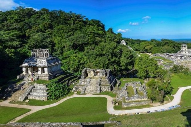 Agua Azul and Misol-Ha Waterfalls Half-Day Tour from Palenque