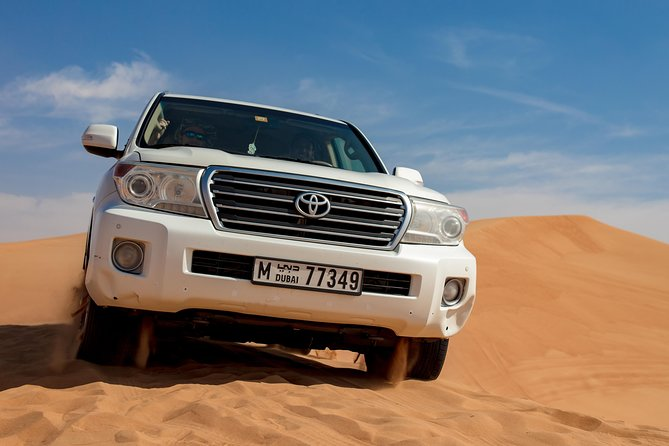 Half-Day Morning Desert Safari with Quad Bike from Dubai with Hotel Pick-up