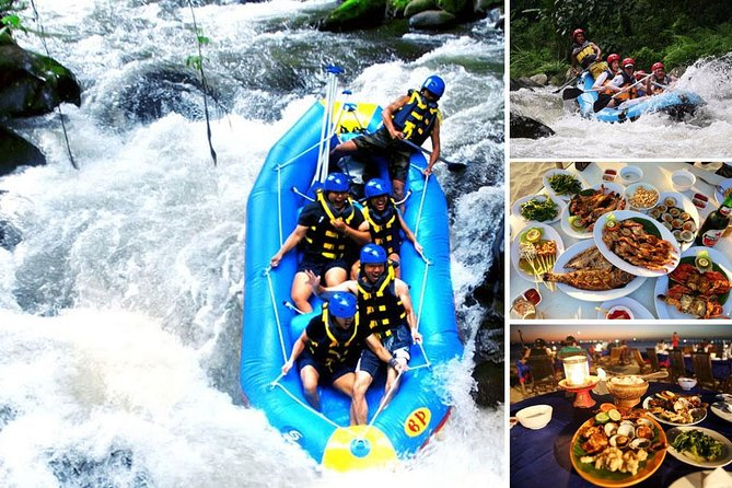 Ayung Rafting and Jimbaran Seafood Dinner Packages