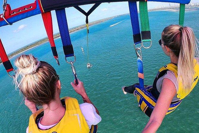 Gold Coast Parasail and 30min Jetski Safari Combo