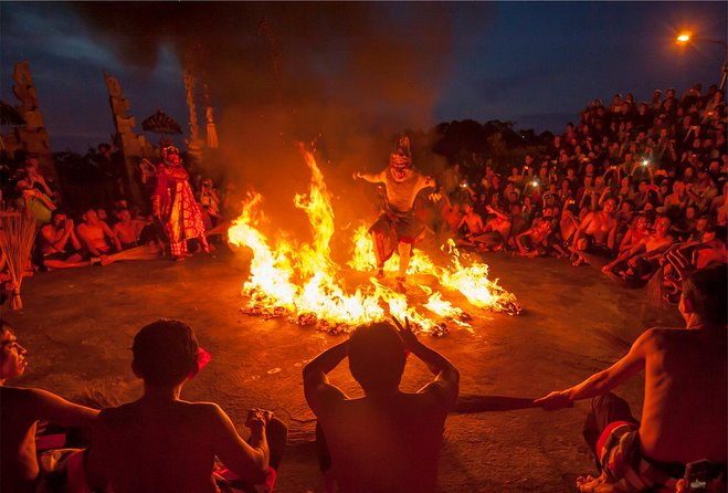 Kecak & Fire Dance with Romantic Sunset View