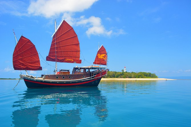 Low Island Snorkelling Private Charter Aboard Authentic Chinese Junk Boat