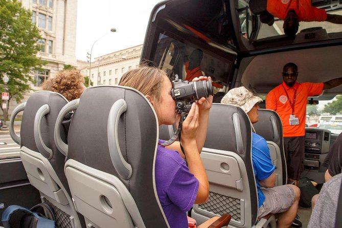 Open Top Convertible Bus Tour of DC