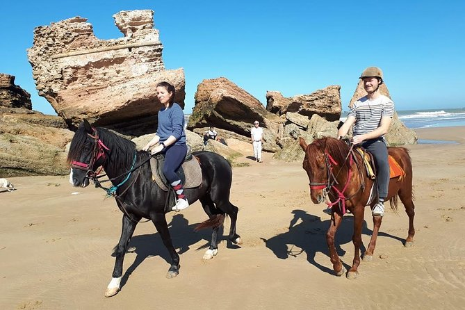 Horse riding at Essaouira beach 2h photo 3