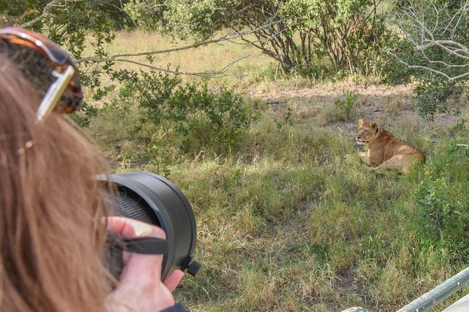 Ol Pejeta, Sweet Waters Chimpanzee Sanctuary and lion tracking safari