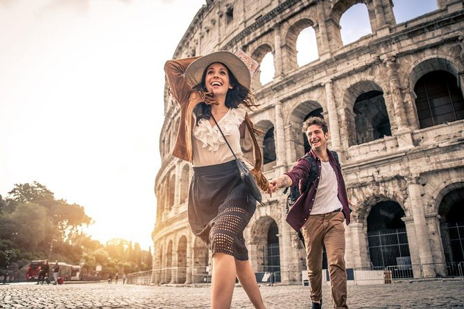 Private Transfer from Naples to Rome with 2 Sightseeing Stops