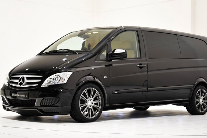 Private Arrival Transfer from Frankfurt International Airport by Luxury Van