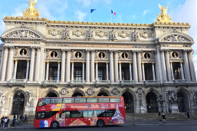 City Sightseeing Paris Official : Red Line (24hr)