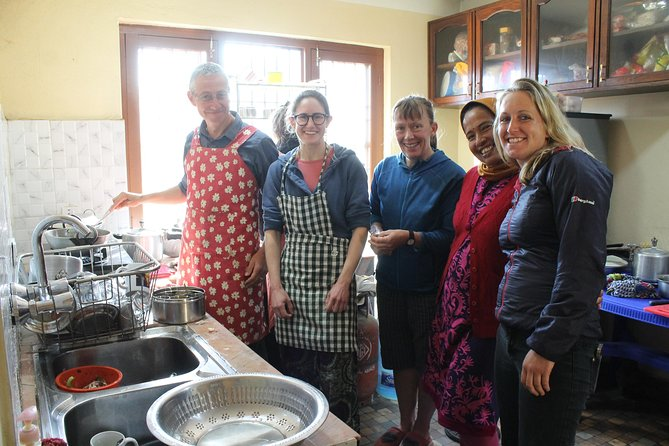Nepali cooking class with Homestay experience