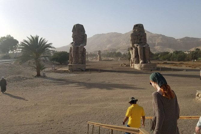 Luxor West Bank , Valley of the Kings & Hatshepsut Temple & Colossi of Memnon