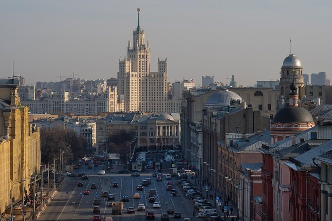 Driving Tour of Moscow: Explore Hidden Corners of the City