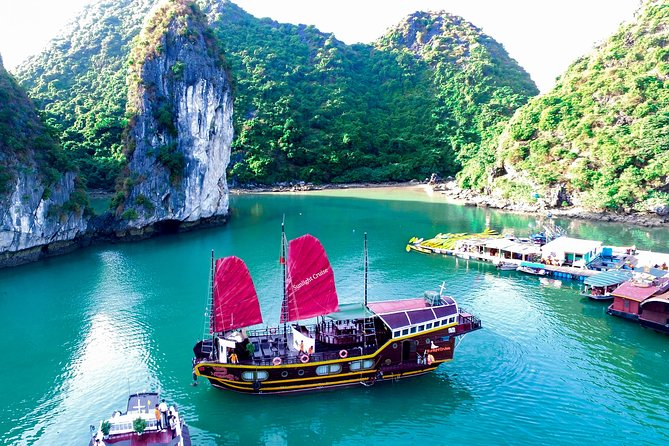 Authentic Private Boat To Visit Lan Ha Bay & Viet Hai Vilalge ( 3 days 2 nights)