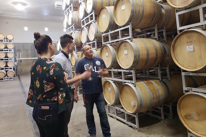 Private tour through the barrel cellar