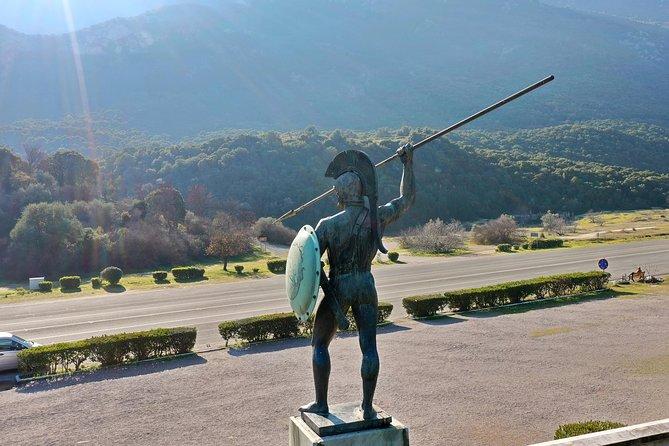 2 Days Private Tour:Persian War-Thermopylae,Marathon,Delphi,Salamis&Plateaus