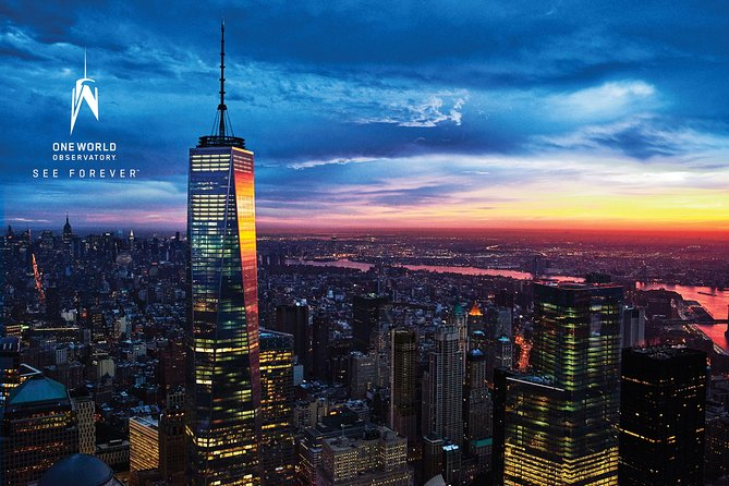 New York City Hop-on Hop-Off Tour including One World Observatory Admission
